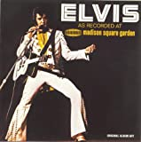 Disco de Elvis Presley - Madison Square Garden (Anverso)