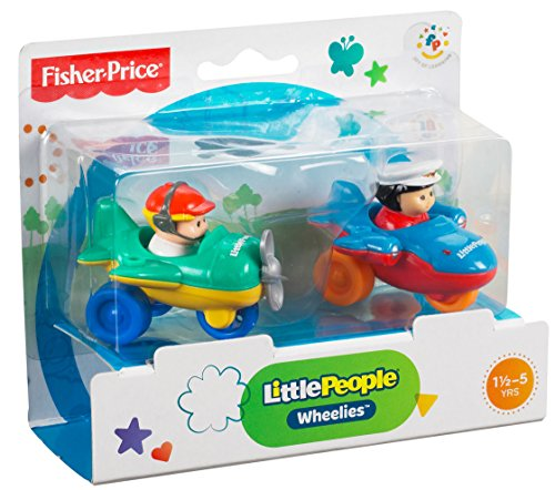 fisher price little people wheelies air toy 2 pack toys games toys activity toys. Black Bedroom Furniture Sets. Home Design Ideas
