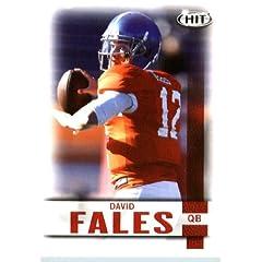 Buy 2014 SAGE HIT Football Card # 12 David Fales QB San Jose State Spartans by Sage Football
