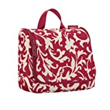 Reisenthel hanging travel toiletry washbag ruby baroque WH3033