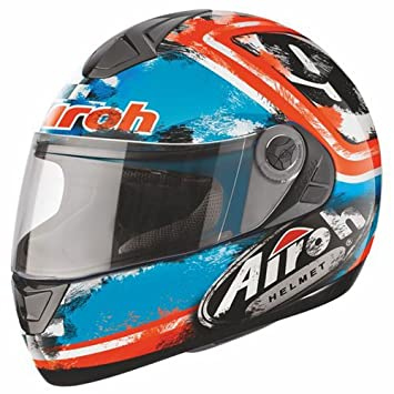 Airoh casque de moto-aster aSGU18 x, diamètre: 63 cm-bleu