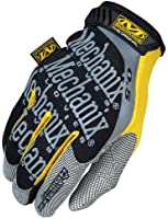 Mechanix Wear HMG-05-009 Mechanix 0.5 Original Style Glove, Black-Yellow, Medium