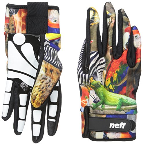 neff men 39 s chameleon pipe glove wildlife large apparel accessories clothing accessories gloves. Black Bedroom Furniture Sets. Home Design Ideas