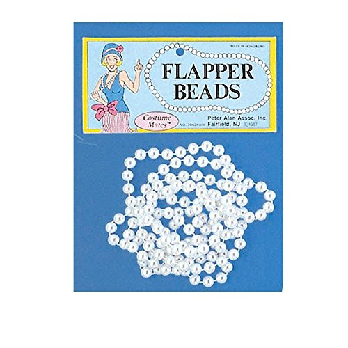 Imitation Pearl Necklace - Flapper Beads