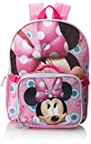 Fast Forward Little Girls'  Minnie Mouse Backpack with Lunch Box