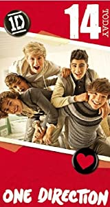 Official One Direction 1d Birthday Card - Age 14 by Global Merchandising