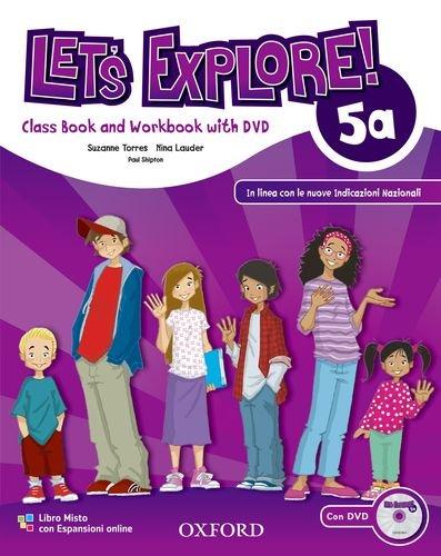 Let's explore. Student's book-Workbook. Con espansione online. Per la Scuola elementare. Con DVD-ROM: 2