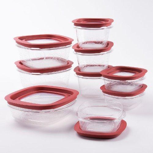 Rubbermaid Premier Easy Find Lids & Easy Organize & Save Space, 18 Piece Set