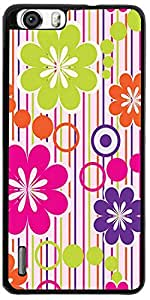 PrintVisa 2D-HH6-D7973 Mobile Case Cover For Huawei Honor 6