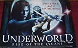 Collectible Underworld Rise Of The Lycans: Main Uk Quad Film Poster