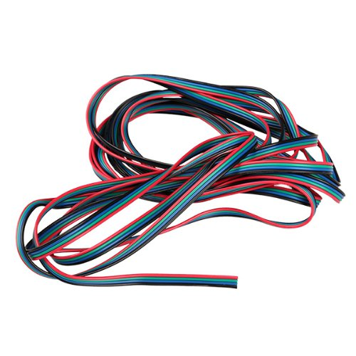 Generic Flexible 5M 4-Pin Extension Connector Cable Cord For 3528 5050 RGB LED Strip