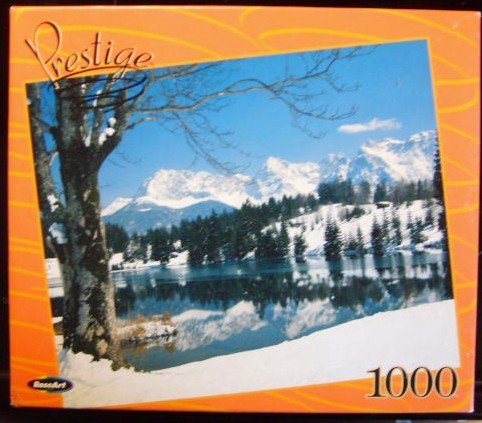 Winter Reflections 1000 Piece Puzzle