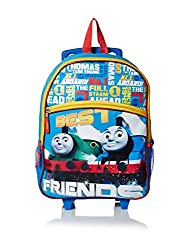 Thomas The Train Kid's Best Friends 16-Inch Rolling Backpack, Multi