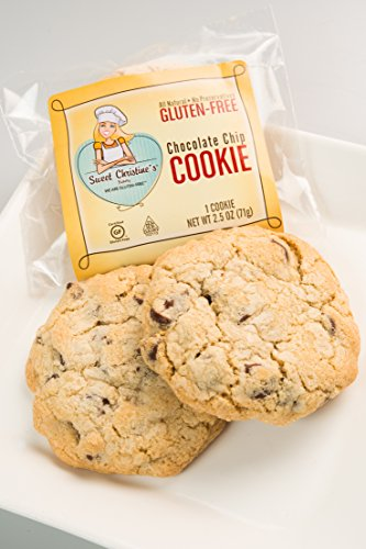 24 Individually Wrapped Gluten-free Chocolate Chip Cookies- CASE SIZE