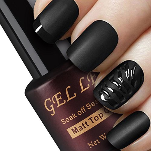 Gellen-Matte-Top-Coat-for-Gel-Nail-polish-Nail-Art-Fun-Manicure-8ml-Color-Package-1pc