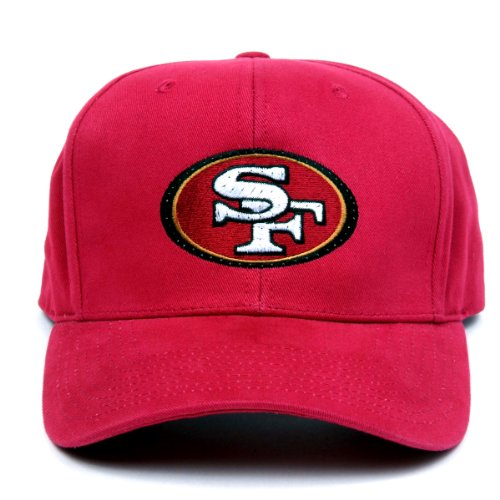 Nfl San Francisco 49Ers Led Light-Up Logo Adjustable Hat