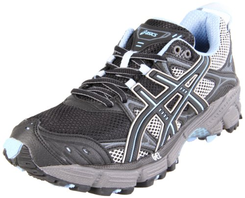 ASICS Women's Gel-Kahana 5 Running Shoe,Black/Titanium/Blue Bell,6 M US