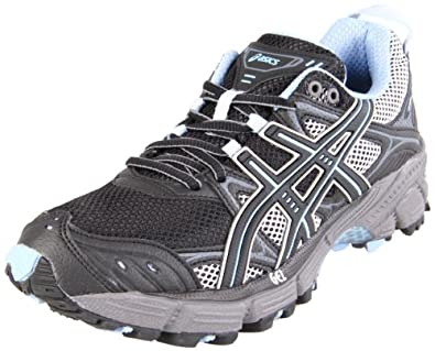 ASICS Women's Gel-Kahana 5 Running Shoe,Black/Titanium/Blue Bell,9 M US