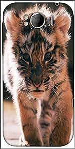 Snoogg Baby Tiger Designer Protective Back Case Cover For HTC Sensation Xl