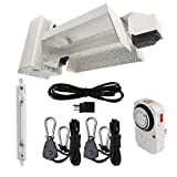 DLS 120-240V 1000W HPS Double Ended DE Complete Grow Light Kit system opened style