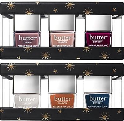 butter LONDON Eventfull Fashion Size Patent Shine 10X Gift Set
