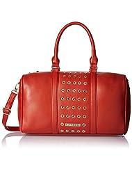 Caprese Women's Satchel (Brick Red)