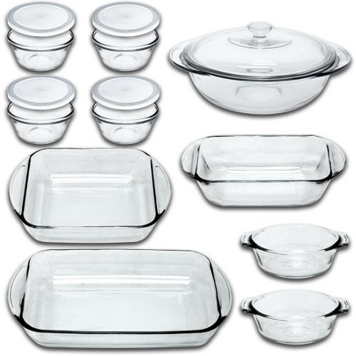 Fire King 15 Pc Bakeware Set