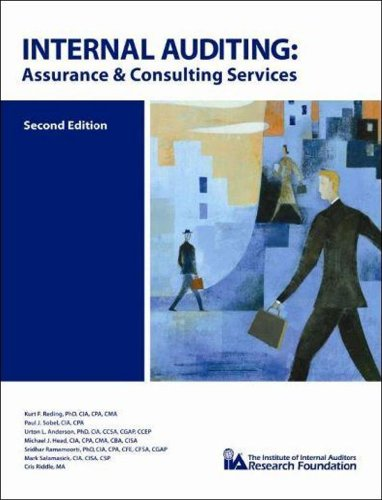 Internal Auditing: Assurance and Consulting Services, 2nd...