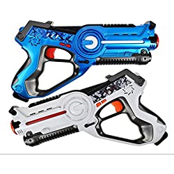 Legacy Toys Laser Tag Set for Kids (2 Pack) for Boys and Girls Birthday Party Lazer Tag Blasters