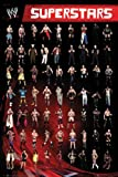 "WWE Superstars - Wrestling Poster (John Cena, The Undertaker...) (Size: 24"" x 36"")"