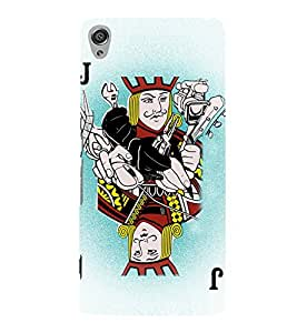 Joker Playing Cards 3D Hard Polycarbonate Designer Back Case Cover for Sony Xperia XA :: Sony Xperia XA Dual