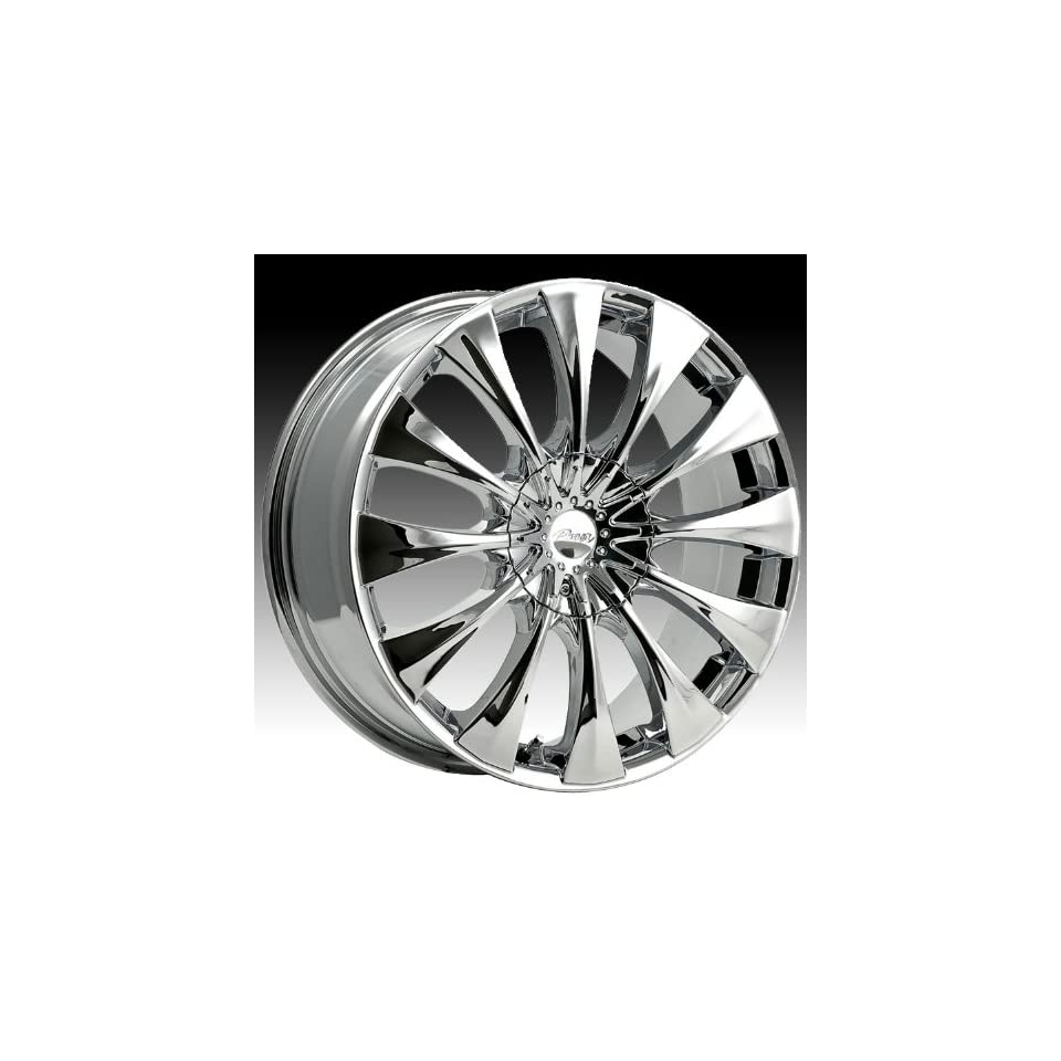 Pacer Silhouette 15x7 Chrome Wheel / Rim 4x100 & 4x4.25 with a 40mm Offset and a 73.00 Hub Bore. Partnumber 776C 5700240