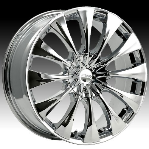 Pacer Silhouette 20x8.5 Chrome Wheel / Rim 5x4.25 & 5x4.5 with a 40mm Offset and a 73.00 Hub Bore. Partnumber 776C-2851440 (2012 Toyota Camry 20 Inch Rims compare prices)