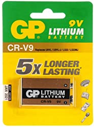 GP Batteries Lithium CRV9 Battery from GP Batteries