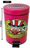ジャグラー ダストボックス [ピンク] 蓄光 ごみ箱 ゴミ箱 GOGO!ランプマーク