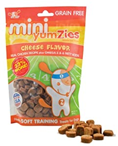 Nootie Mini Yumzies Natural Cheese Flavor Dog Treats