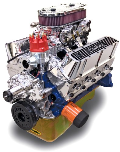 Edelbrock 45464 Crate Engine Performer RPM Dual Quad 9.9:1