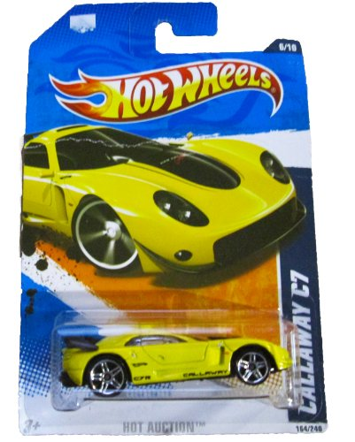 Hot Wheels - 2011 Hot Auction - 164/240 - Callaway C7 (yellow)