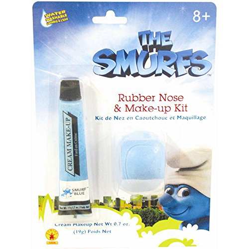 The Smurfs: Smurf Makeup and Nose