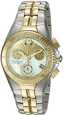 buy Technomarine Men'S 'Cruise Dream' Swiss Quartz Stainless Steel Casual Watch (Model: Tm-115097)