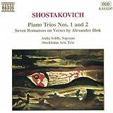 Shostakovich: Piano Trios Nos. 1 & 2; Seven Romances on Verses by Alexander Blok