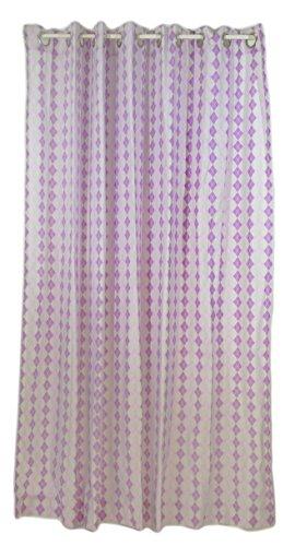 Pam Grace Creations Shower Curtain, Lovebird Lavender