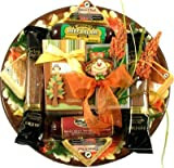 Gift Basket Village Give Thanks Fall Platter Gift Basket for Thanksgiving