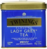Twinings Lady Grey Tea - 3.53 oz. Loose Tea Tin