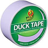 Duck Brand 240977 Color Duck Tape, Dusty Lilac, 1.88-Inch by 20 Yards, Single Roll