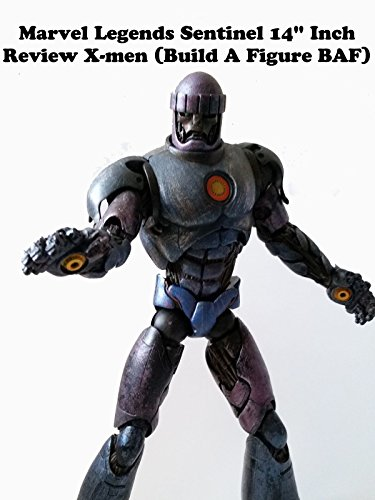 "Marvel Legends SENTINEL 14"" inch Review (build a figure BAF)"
