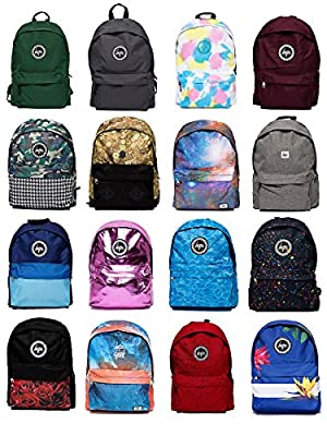 Hype Backpack | Unisex Rucksack Designer School Shoulder Bag | Just Hype Bags