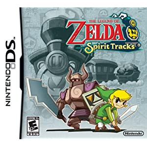 51%2BuHCSb%2BKL. SL500 AA300  Download The Legend of Zelda: Spirit Tracks 2009   Nintendo DS