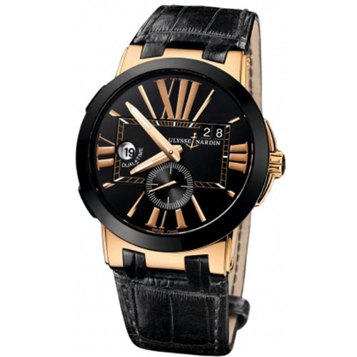 Ulysse Nardin Executive Dual Time Mens Watch 246-00-5-42