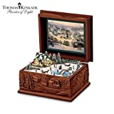 Thomas Kinkade St. Nicholas Circle Music Box by The Bradford Exchange ~ Ardleigh Elliott